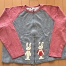 KP♡アップリケが可愛いジップジャケット♡サイズ150