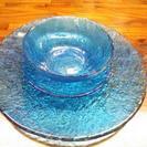 ガラス皿3点セット
