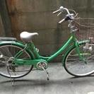 26インチ自転車譲ります