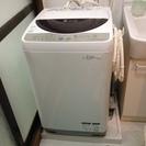 SHARPの IONCORT 洗濯機 80L