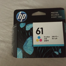 HP 61 プリンターインク、3色(値下げしました)
