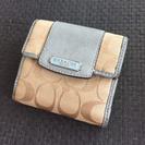 COACH★Wホック財布★