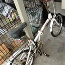 折り畳み自転車   未使用