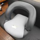 札幌 引き取り 回転 座椅子 コンパクト グレー系 シンプル 売り切り