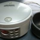 炊飯器(3合炊き)さしあげます。使用可能です。着払いで発送、もしく...
