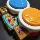 ディズニー ミッキーマウスの太鼓  6ヵ月〜3歳まで長く遊べる楽器