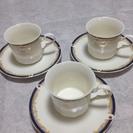Giovanni Valentino Tea Cup 3set