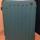 トルコ石色のスーツケース TSAロックタイプ