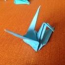 手折り鶴:1000羽