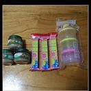 ステップ&ミルクケース&オーガニックベビーフード&母乳パッドセット