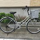 中古自転車 26インチ 銀!