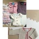 女の子冬・春服5点(60〜75)