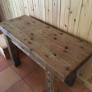 木製テーブル(小)、残2台
