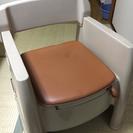 座椅子トイレ 耐重100kg