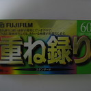 VHSテープ  FUJIFILM   60