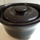 [中古美品] MUJI(無印良品)土釜おこげ1.5合炊き