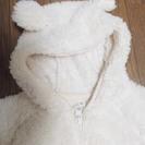 着ぐるみボア素材のカバーオール(ハロウィンパーティーにも🎃)・60cm