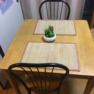 ダイニングテーブル三点セット