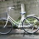 中古◆Bobby town◆シマノ外装6段 ダイヤルロック 快走!!