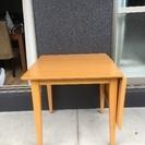 伸縮テーブル(バタフライテーブル付)
