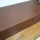 大収納チェストベッド(BOX引出し)シングル・ヘッドレスタイプ