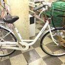 [3636]中古自転車 リサイクル自転車 シティサイクル ママチャ...