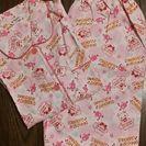 長袖長ズボンのパジャマ サイズ140  新品