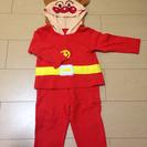 子供が喜ぶ アンパンマンなりきりパジャマ 90㎝