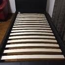 ウッドスプリングベッドフレーム シングルサイズ