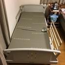 動作品◆パラマウントベッド 介護ベッドQ602K マットレス他付属有