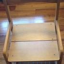 【中古】木製子供用椅子
