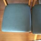 ダイニング椅子二脚