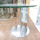 札幌 引き取り モーダエンカーサ サイドテーブル クリアガラス