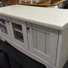 木製ホワイトテレビ台 売ります