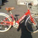 子ども用自転車 22インチ 防犯登録あり
