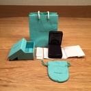 値下げ中。Tiffany & Co. 空箱 ギフトボックス 紙袋 セット