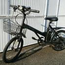 20インチ電動アシスト自転車