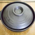 料理が映える!黒の土鍋(内径25cm・8号?・4人用)