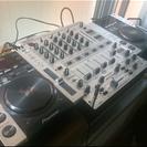 CDJ200×2台 DJX700