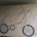 SoftBank お父さん自転車の
