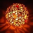 琉球珊瑚・ランプシェード ハンドメイド サンゴ 照明