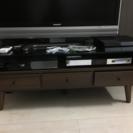 テーブル テレビ台 収納あり