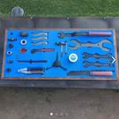 自転車工具  DIY 収納ラック