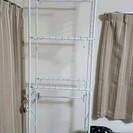 ランドリー 洗濯機 ラック 3段 収納 引き取りに来てもらえる方限...