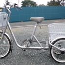 三輪自転車 殆ど未使用です。