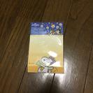 スヌーピ メモ帳