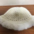 ファーがかわいい帽子