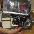 windsorのコップ5ケ お盆付き 未使用品 アウトドアなどにどうぞ。