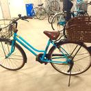 ご商談成立☆6段変速機能付・自転車☆26インチ・後ろバスケット付き♡