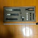 自転車工具とDIY収納ラック